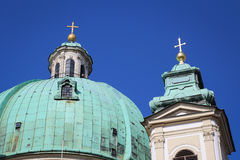 The Peterskirche (St. Peters Church) in Vienna, Austria. Stock Images