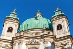 Peterskirche,  St. Peters Church. Vienna, Austria Stock Photography