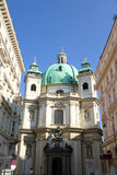The Peterskirche in Vienna Royalty Free Stock Images