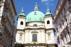 Peterskirche in Vienna, Austria Royalty Free Stock Photography