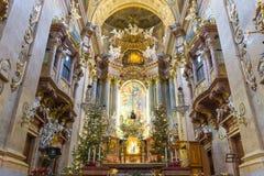 Peterskirche,  Vienna, Austria Royalty Free Stock Photo