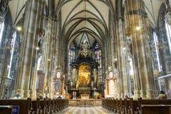 Peterskirche,  Vienna, Austria Stock Photo