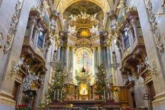 Peterskirche at Vienna, Austria Stock Image