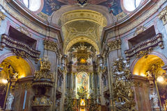 Peterskirche at Vienna, Austria Royalty Free Stock Photography