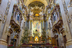 Peterskirche,  Vienna, Austria Royalty Free Stock Photography