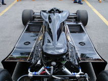 Peterson's Lotus 78. 1977 Lotus 78 driven by Mario Andretti and Ronnie Peterson in the formula one world championship. This car has been photographed behind Stock Image