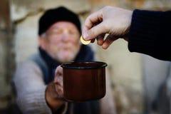 Petición de la mano Imagen de archivo libre de regalías
