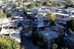 Petionville neighborhod, Port-au-Prince, Haiti Royalty Free Stock Images