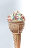 Petisco alto dado forma do doce da caloria do gelado Foto de Stock Royalty Free