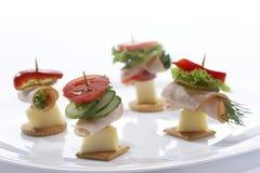 Petisco claro (sanduíche do queijo) Fotos de Stock