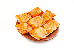 Petisco com queijo Fotos de Stock