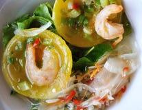 Petisco do camarão Imagem de Stock