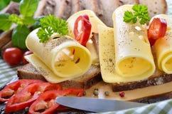 Petisco do queijo Imagem de Stock