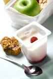 Petisco rápido e conveniente ou almoço claro Fotografia de Stock Royalty Free