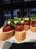 petiscos do alimento Fotos de Stock Royalty Free