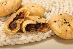 Petiscos do chinês da pastelaria flocoso Foto de Stock