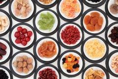 Petiscos saudáveis do fruto Fotografia de Stock Royalty Free