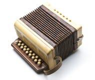 Petit accordéon photographie stock
