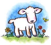 Petit agneau Image libre de droits