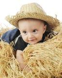 Petit agriculteur Baby Photo libre de droits