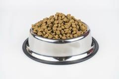 Petit animal d'aliments pour chats photographie stock libre de droits