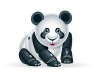 Petit animal de panda de robot Photo stock