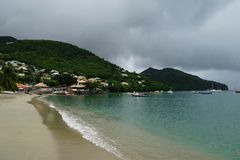 Petit Anse bay beach, Martinique Island - Lesser Antilles, French overseas territory Stock Photography