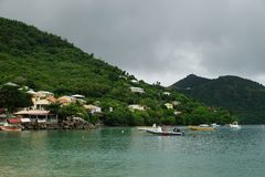 Petit Anse bay, Martinique Island - Lesser Antilles, French overseas territory Royalty Free Stock Image