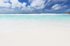 Petit Anse, La Digue, Seychelles Stock Photo