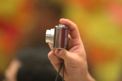 Petit appareil photo numérique photographie stock libre de droits
