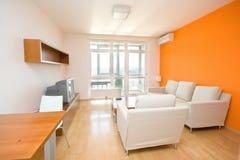 Petit appartement moderne photographie stock