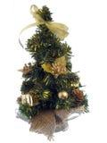 Petit arbre de Noël Photographie stock