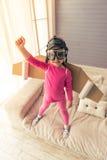 Petit astronaute mignon Photographie stock libre de droits