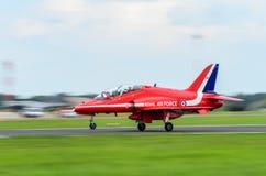 Petit atterrissage de jet Photographie stock libre de droits