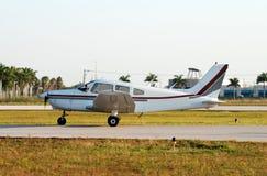 Petit avion Photo stock