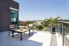 Petit balcon Photo stock