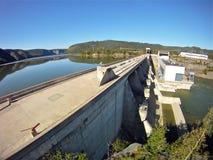 Petit barrage Photographie stock