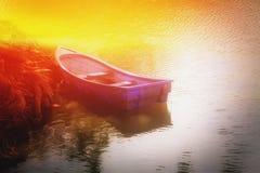 Petit bateau Photos libres de droits