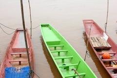 Petit bateau de pêche Photo stock