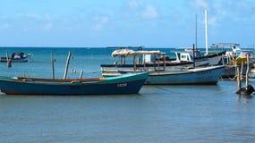 Petit bateau de pêche au Cuba Images stock