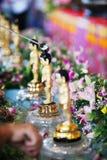 Petit Bath de Bouddha Images libres de droits