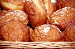 Petit beignet savoureux Image stock