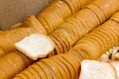 Petit blanc ou SANDWICH de pains photographie stock