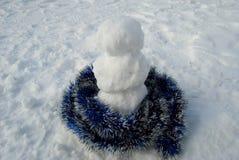 Petit bonhomme de neige Photos stock