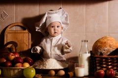 Petit boulanger photos stock