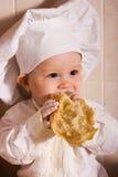 Petit boulanger Image libre de droits