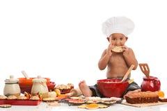 Petit boulanger photographie stock