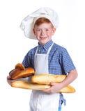 Petit boulanger Images stock