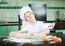 Petit boulanger Image stock