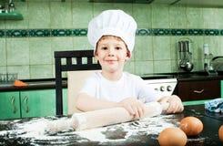 Petit boulanger Photo libre de droits